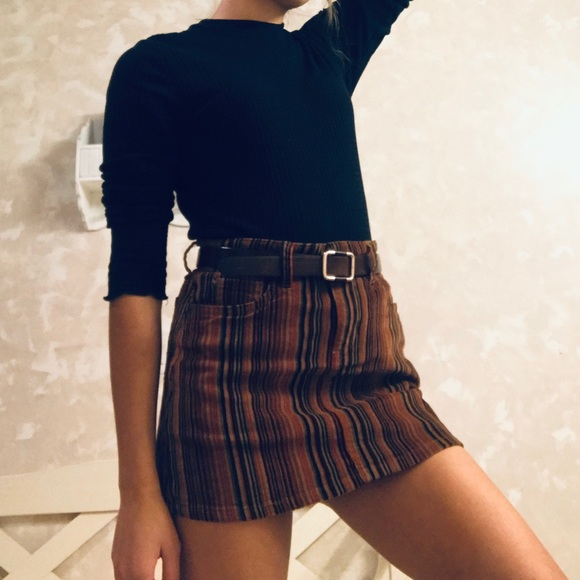Sky and Sparrow Dresses & Skirts - Corduroy Mini Skirt